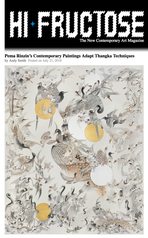 Pema Rinzin's Contemporary Paintings Adapt Thangka Techniques.png